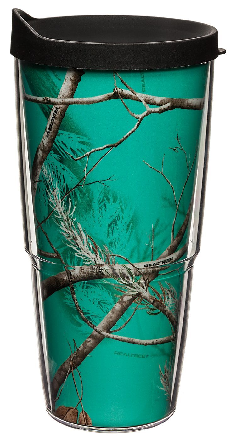 Tervis Tumbler 174 Realtree Apc Teal Insulated Wrap With Lid