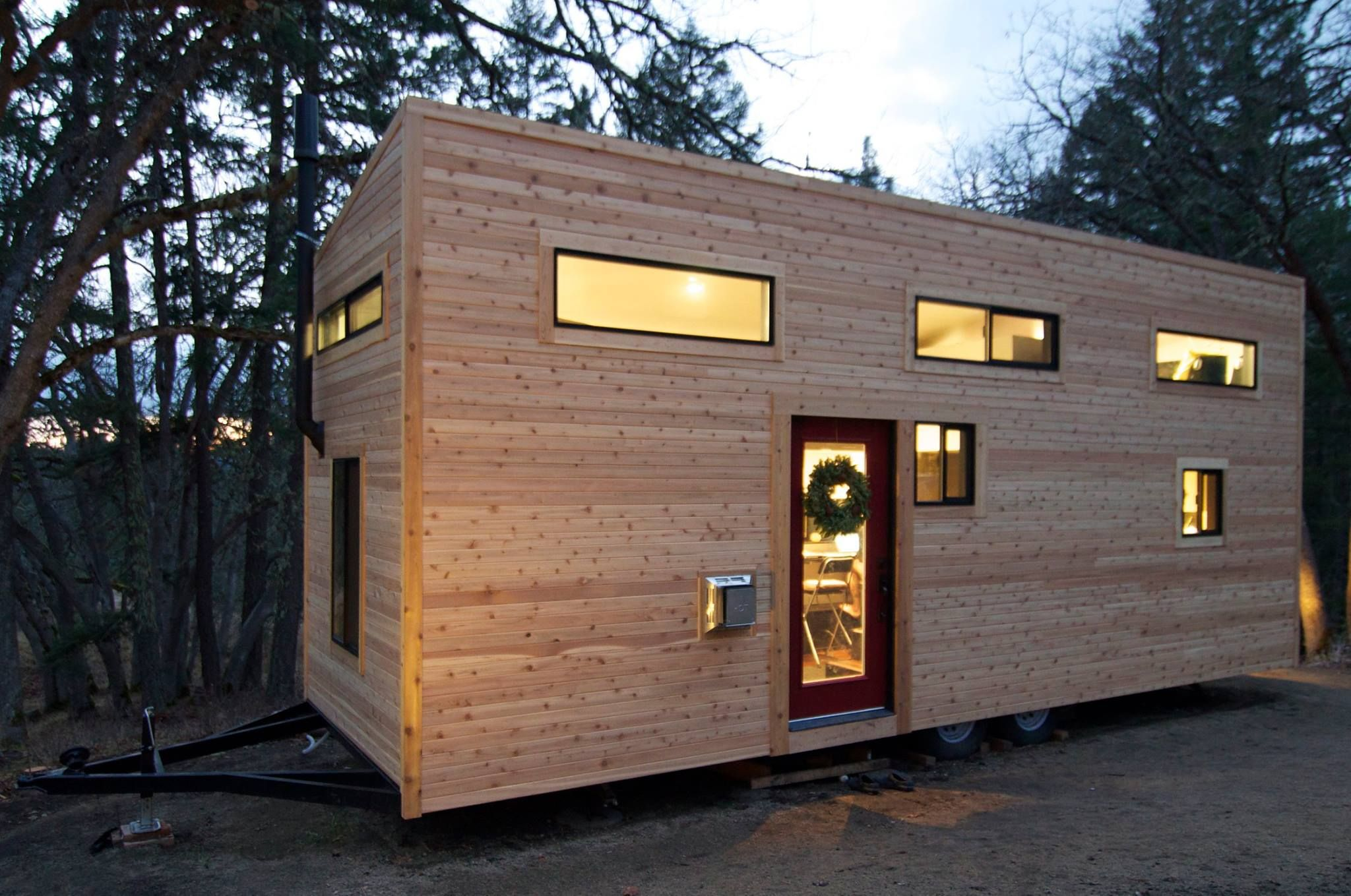 Tiny Home Designs: Strawbalers Move Into Their Newly Constructed Tiny House