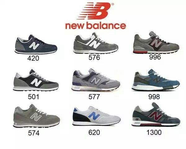 reputable site c4659 ba087 Algunos modelos new balance