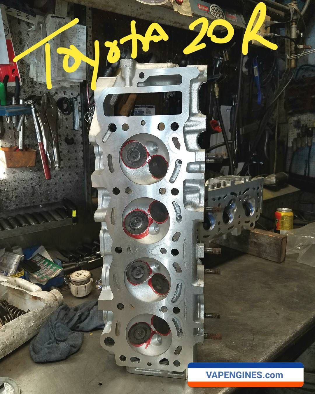 Toyota 20r Remanufactured Cylinder Head Toyota20r Valvejob Enginerebuildautoshop Enginebuilder Losangelesmachinesho In 2020 Machine Shop Car Shop Engine Rebuild