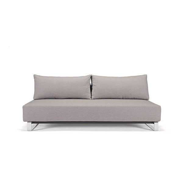 Play Sofa Bed Double Light Grey Removable Cover