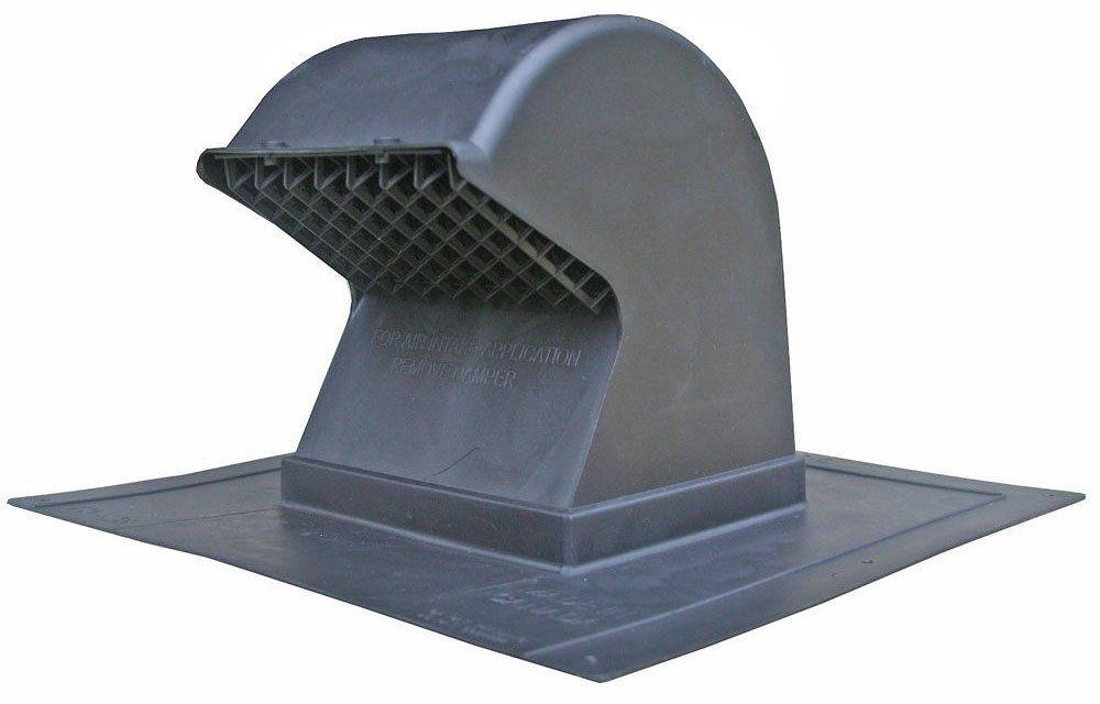 Speedi Products Ex Rcg 48 4 Inch To 8 Inch Diameter Plastic Gooseneck Roof Cap Roof Cap Gooseneck Roof