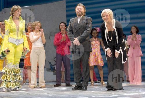 Björn Ulvaeus and Anni-Frid Lyngstad ABBA