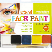 Natural Face Paint - Siena loves painting her face so we would love would love some non-toxic kid faces paints. I think ones that are made to be brushed on will work better than the crayon type.