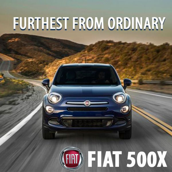 Step Out Of The Ordinary And Into The All-New 2016 #FIAT
