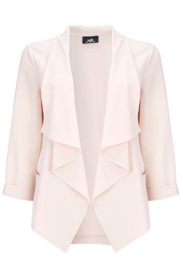 Blush Waterfall Cardigan | Wallis, Blazer jacket and Blazers