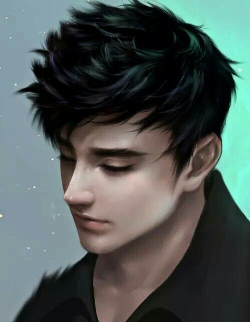 Boy Digital Art Digital Art Anime Realistic Art Black Hair Boy