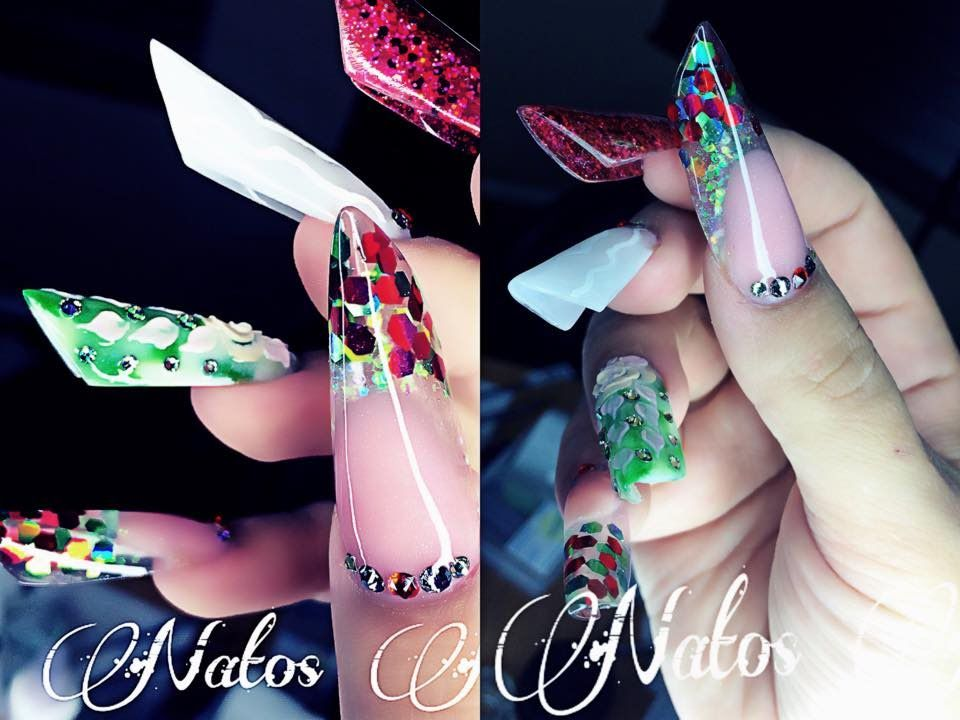 Uñas Acrilicas Viva Mexico | Natos Nails | Youtube | Pinterest ...