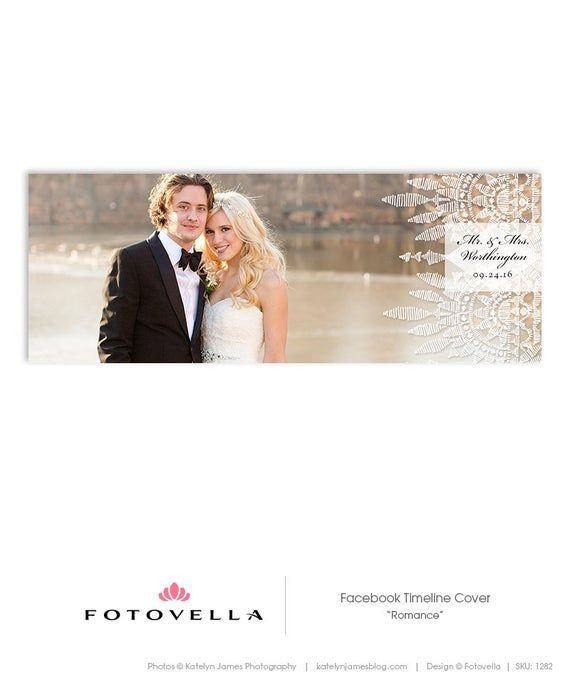 Wedding Facebook Cover Template