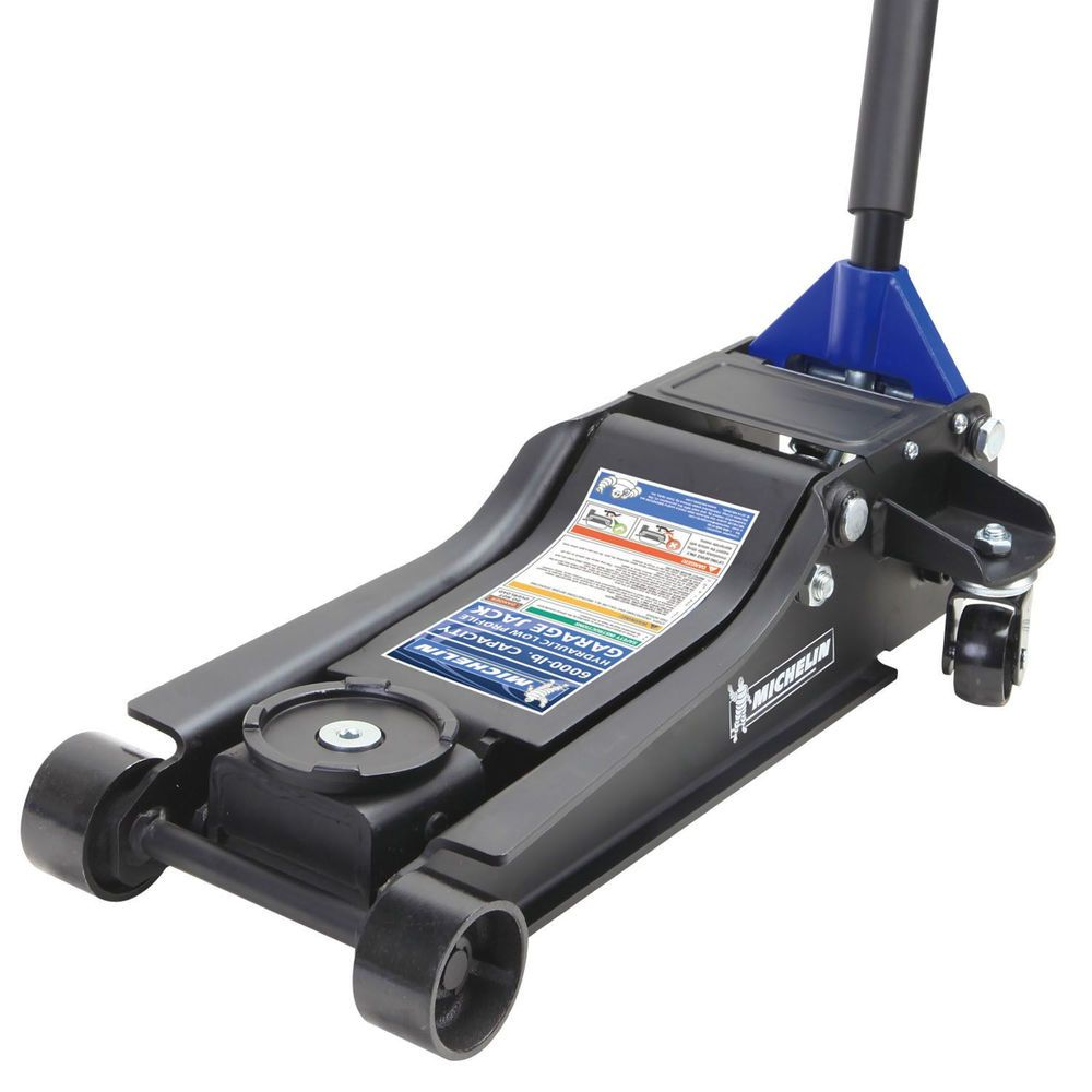 Michelin 3Ton Low Profile Floor Jack with Dual Pump