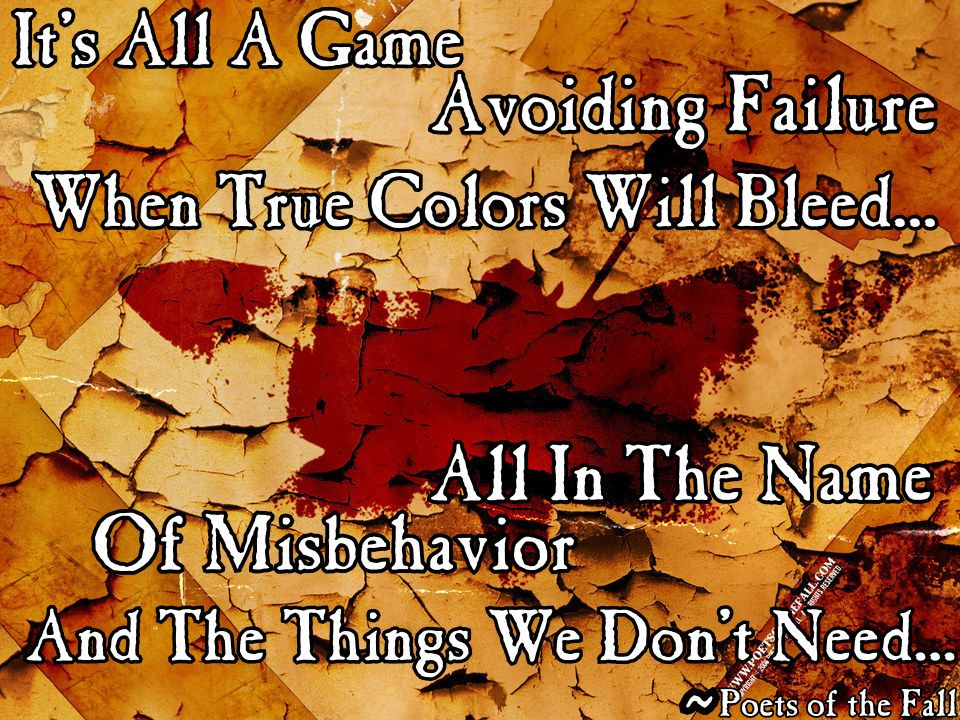 """Carnival of Rust"" - Poets of the Fall"
