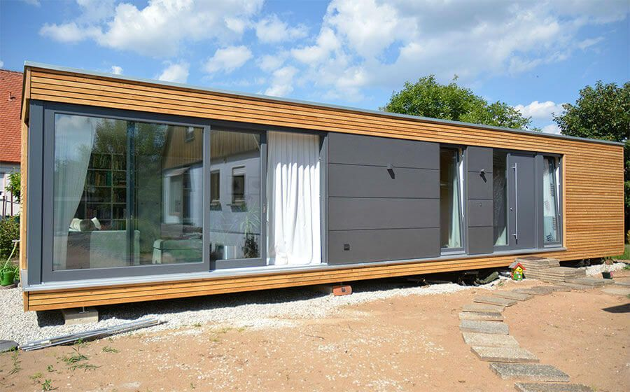 CUBIG Singlehaus Modulhaus | container homes | Pinterest | Container ...