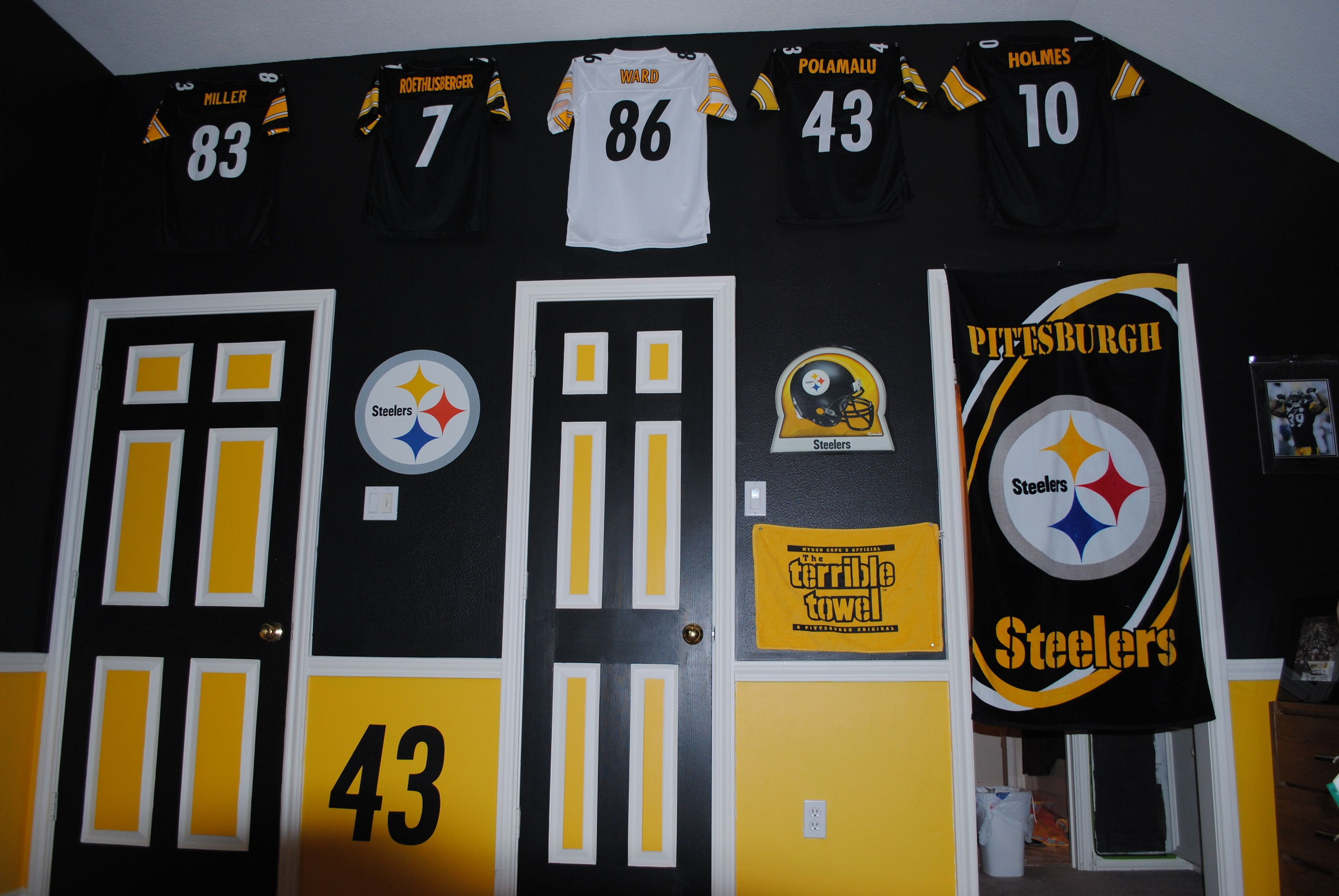 Steeler bedroom in Texas - Richmond, Texas, WTAE Channel 4