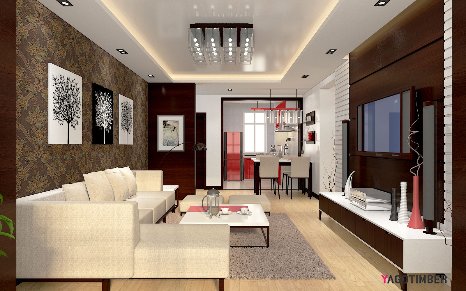 Get Exclusive Living Room And Dining Room Interiordesign I