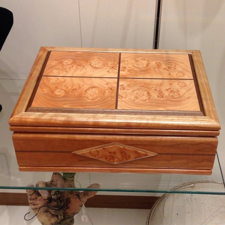 Cherry Burl Box from 108 Contemporary for $350.00
