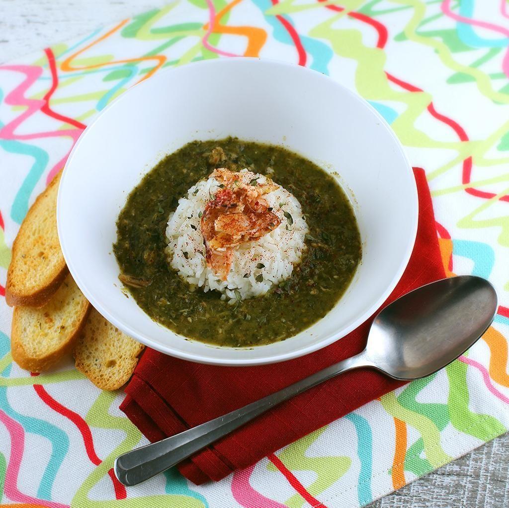 Trinidad Callaloo Soup   Rezept