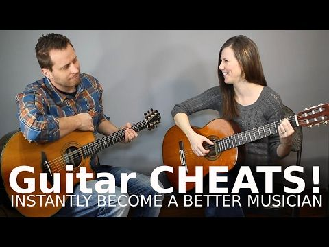 Guitar CHEATS! - Never Play a Barre Chord Again! - YouTube | Guitar ...