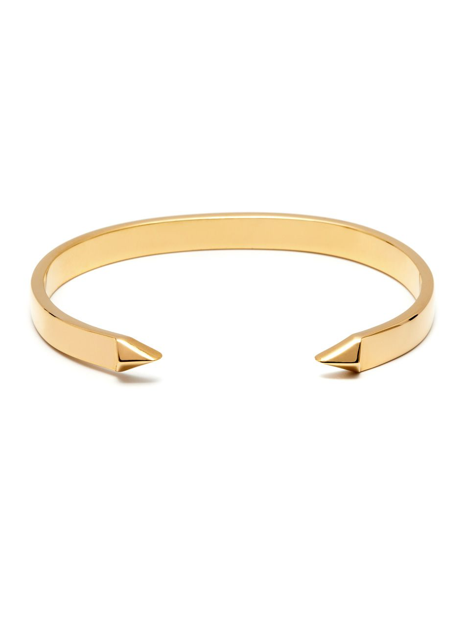 The End Cuff In Gold Mens Gold Bracelets Gold Bracelet Cuff Mens Jewelry Bracelet