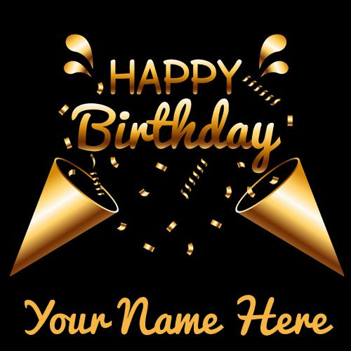 Happy Birthday Wishes Name Greeting Card For Friend