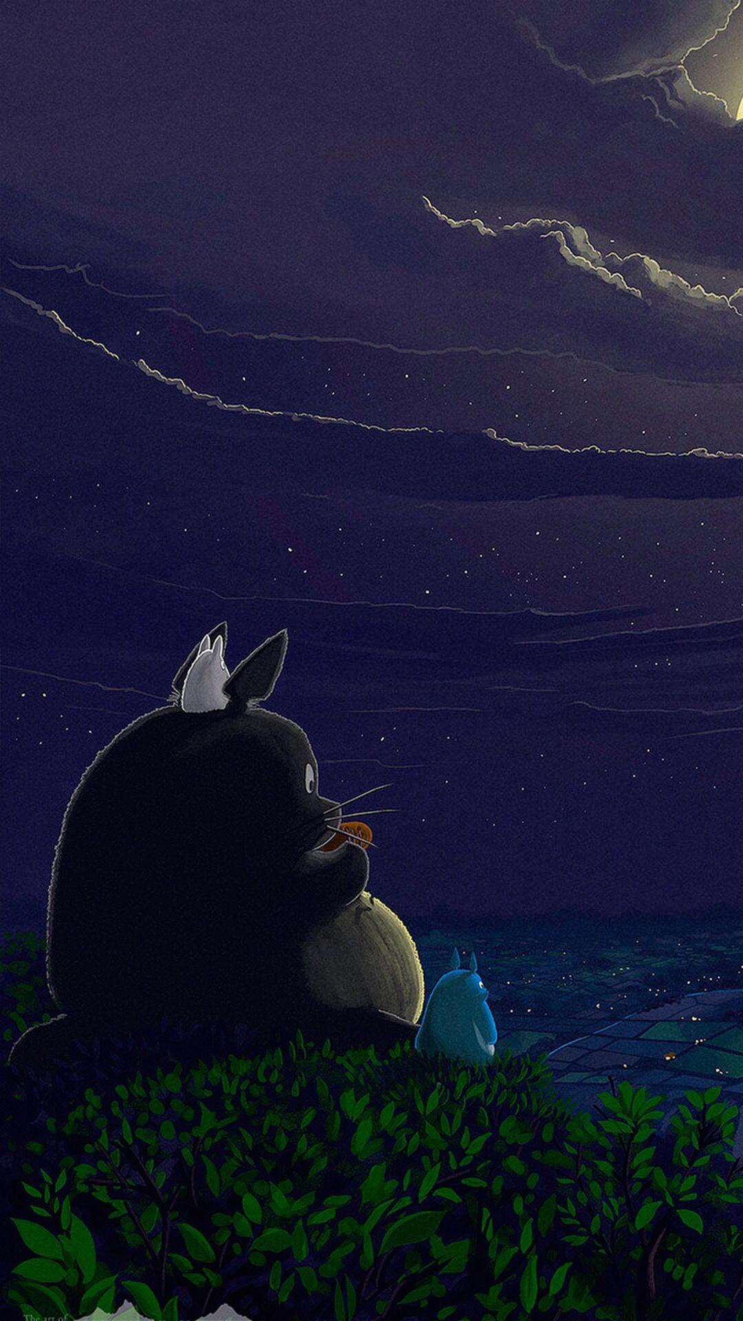 My Neighbor Totoro Wallpaper Totoro My Neighbor Totoro Whale