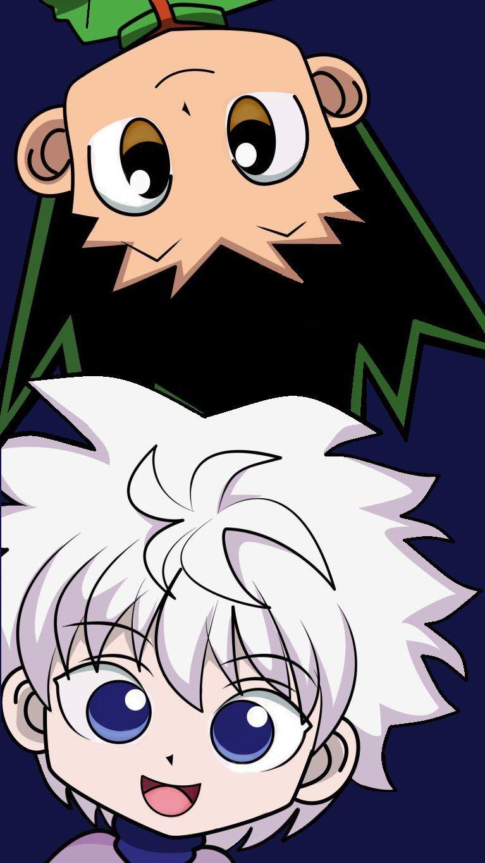 خلفيه لطيفه كيوت لغون و كيلوا Anime Wallpaper Hunter Anime Hunter X Hunter