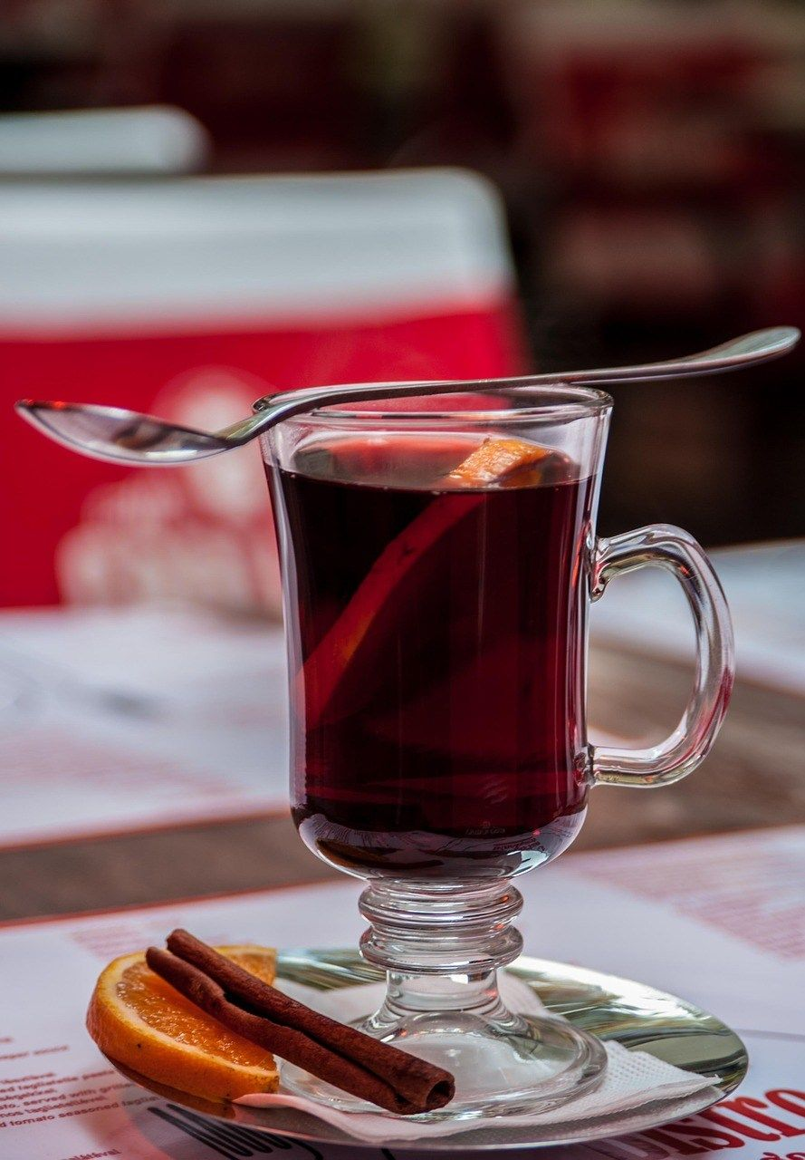 German Mulled Wine Gluhwein For The Holidays Best German Recipes Wine Recipes Mulled Wine Recipe Mulled Wine