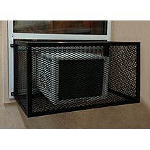 Window Unit Air Conditioner Protective Cage 24 D X 36 W X 24 H Window Unit Air Conditioners Window Unit Windows