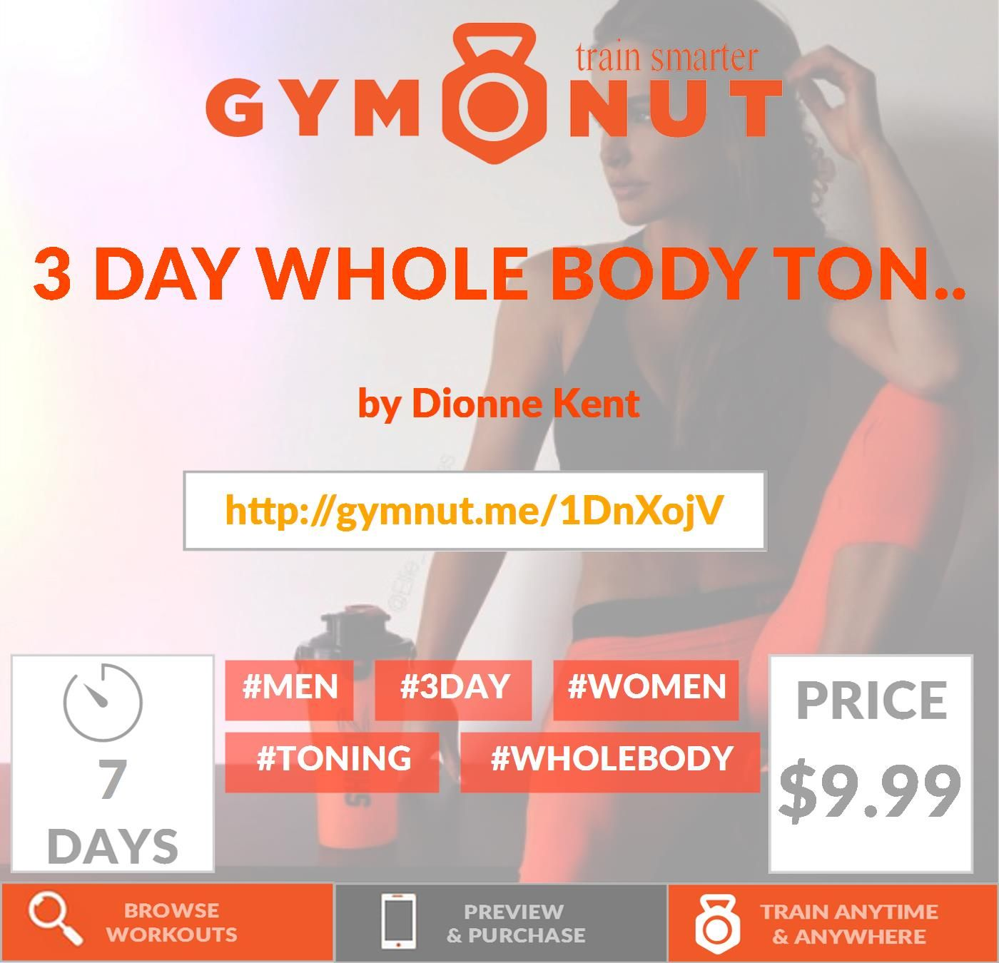 Click On The Link Below To Download Workout 3 Day Per Week Split