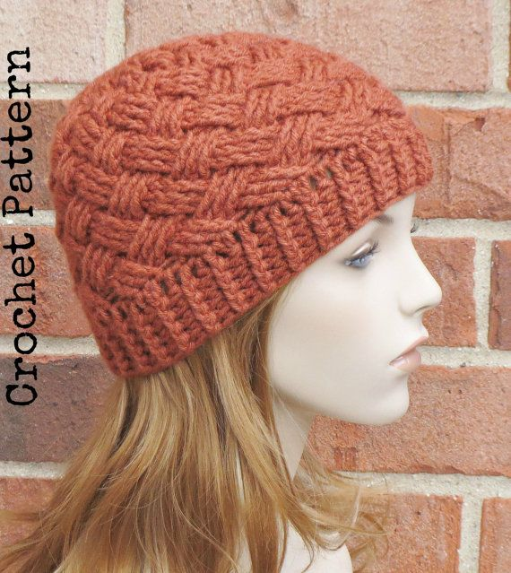 CROCHET HAT PATTERN Instant Download  Bristol by AlyseCrochet