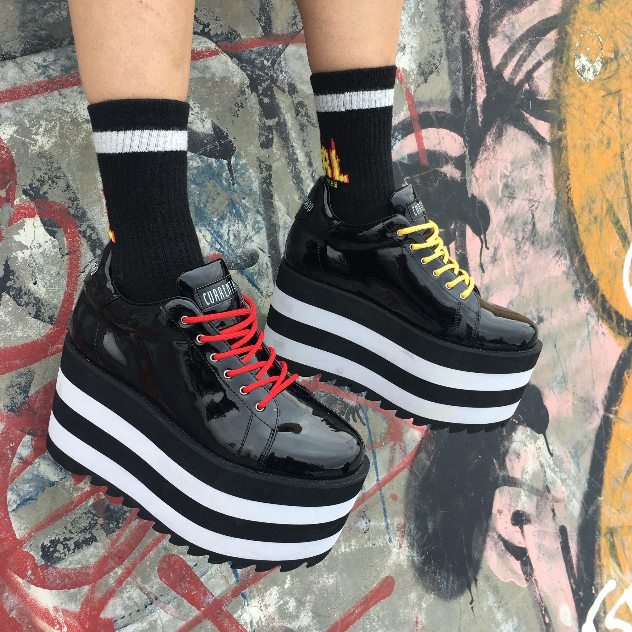 Night Shiner Platform Sneakers