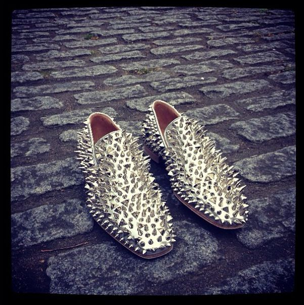23ddb26c1c5 My favorite silver spiked Louboutins. Breathtaking!!!!