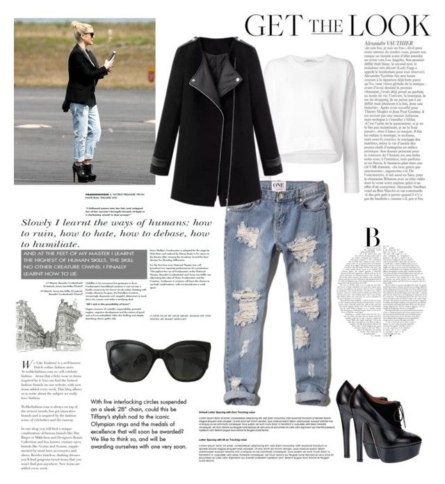 """Jessica Simpson.Airport style"" by katerina1500 ❤ liked on Polyvore featuring T By Alexander Wang, Jessica Simpson, Abercrombie & Fitch, Alaïa, Chanel and Tiffany & Co."