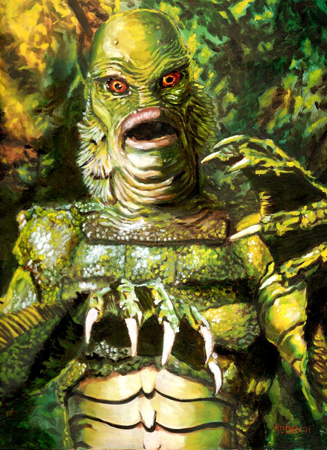 Http Churchofhalloween Com Creature From The Black Lagoon Black Lagoon Horror Monsters Horror Art