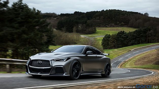 Infiniti Q60 Project Black S Hybrid Coupe 2018 Dreams