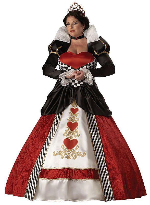 U.S. fancy dress costumes store - Queen of Hearts Plus Costume ...