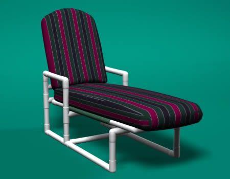 PVC Modern Cushion Chair $169.00 Retail