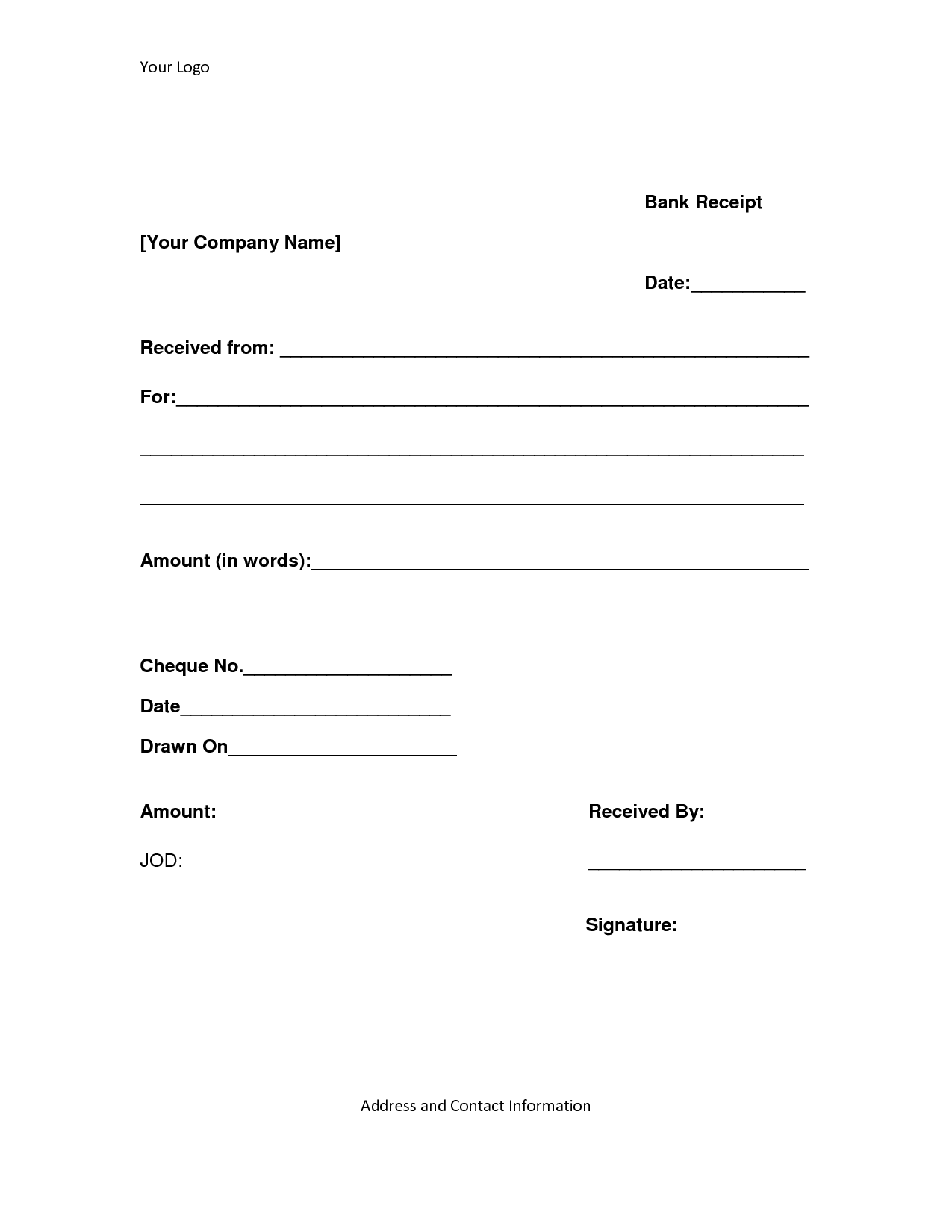 Loan Payment Receipt Template Cover Letter Network Administrator