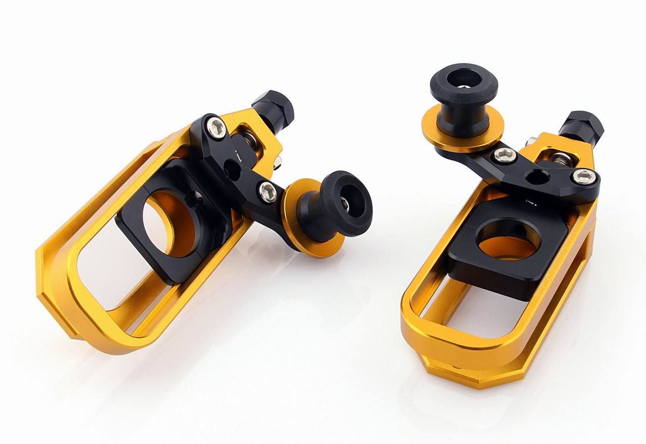 Motorcycle CNC Aluminum Chain Adjusters with Spool