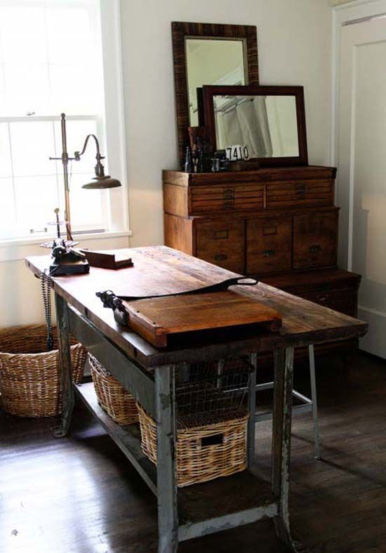 industrial style office desk modern industrial desk. Contemporary Industrial 26 Industrial Home Offices That Blow Your Mind  DesignIndustrial  Style DeskIndustrial  Intended Office Desk Modern R