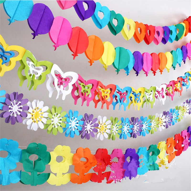 Colorful baby shower paper flowers event party supplies artificial colorful baby shower paper flowers event party supplies artificial flowers birthday party decorations kids wedding decoration junglespirit Gallery