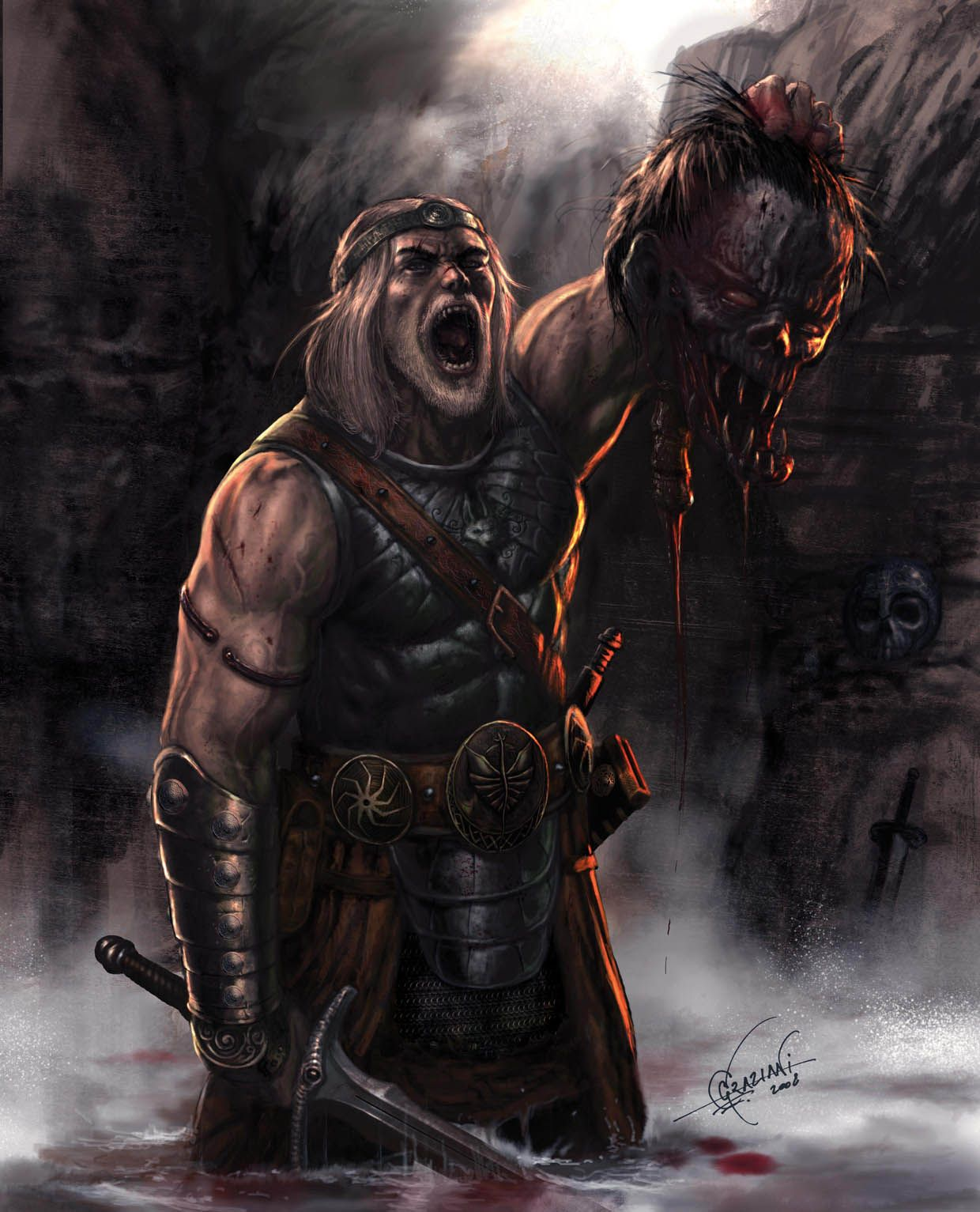The Return Of Beowulf By Cimoart 1240 1533 With Images