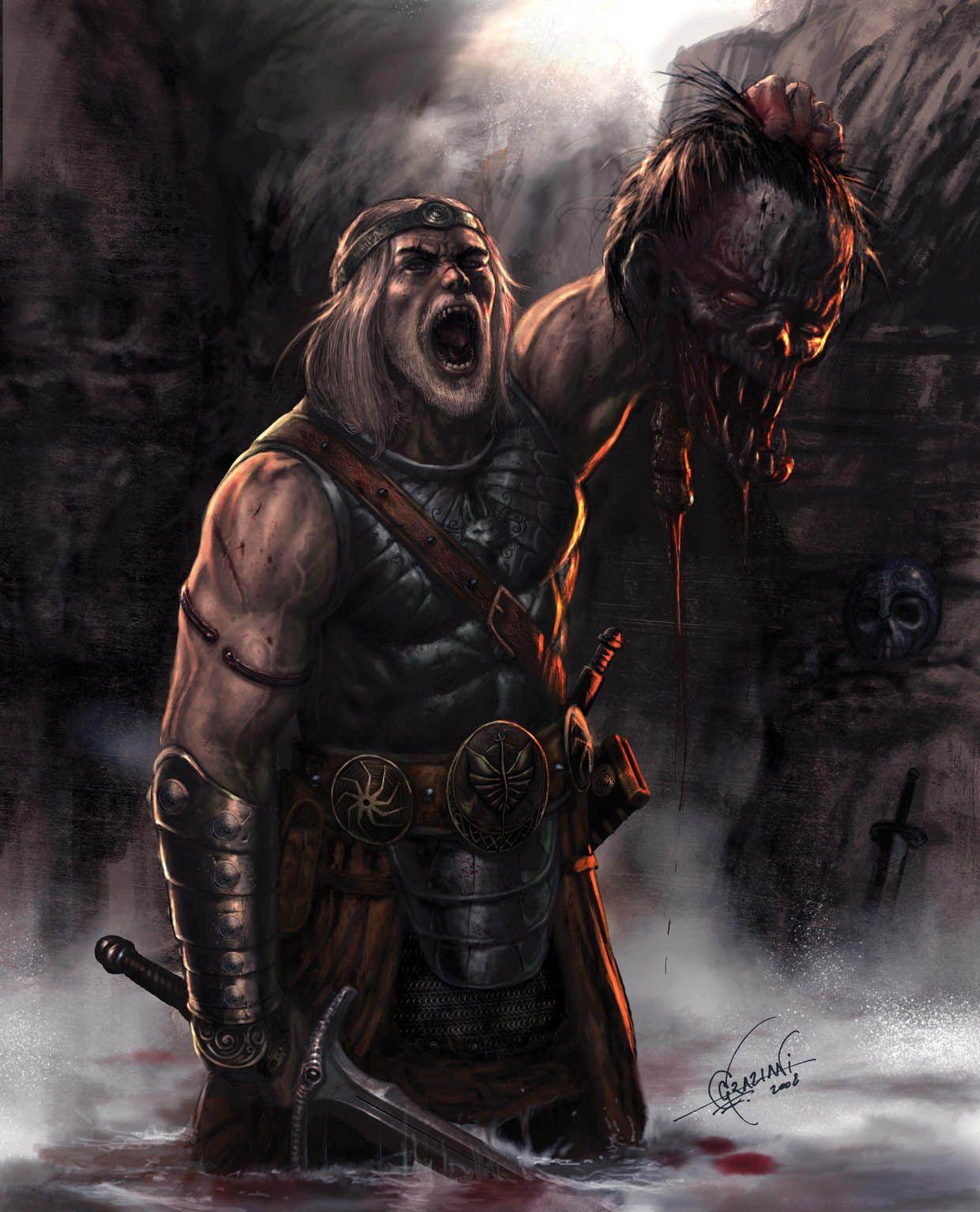 The Return Of Beowulf By Cimoart In