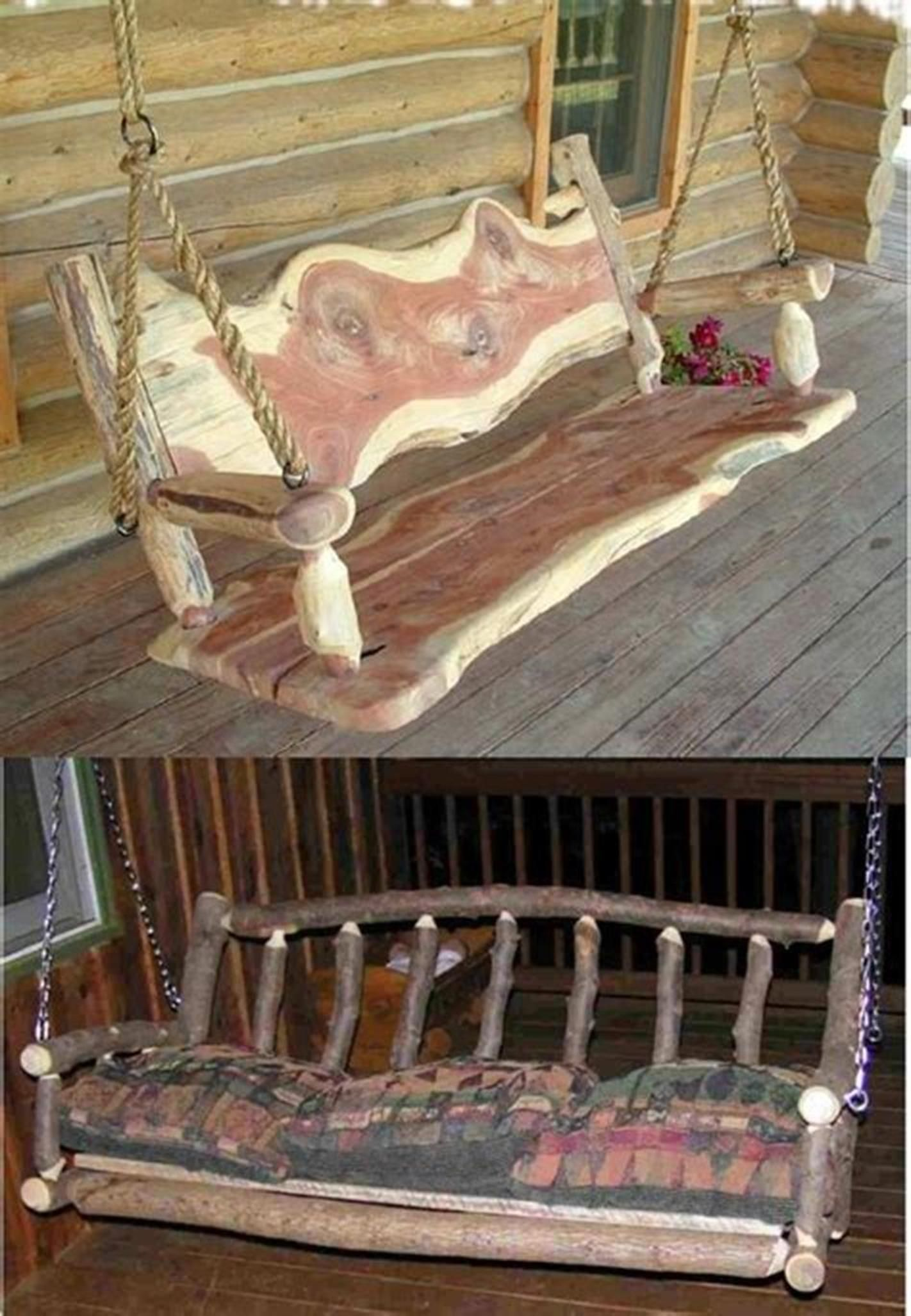 35 Best Rustic Porch Furniture Ideas You'll Love #rusticporchideas