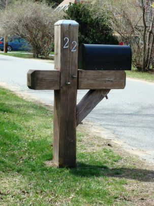 heavy duty mailbox. Yankee Style Heavy-Duty Mailbox Post | Lynchpin Design Company |Home Accents -- Full Packages Available For New Construction Heavy Duty V