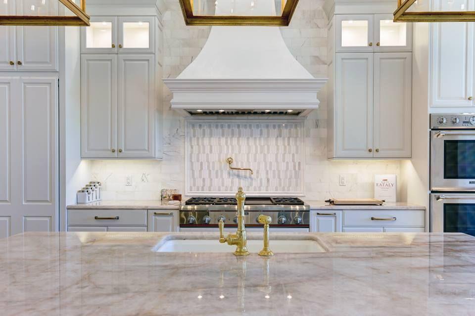 Cristalo Quartzite Island And Countertop #kitchen #quartzite #island  #countertop