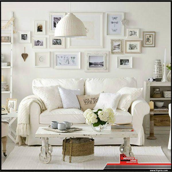 Warna Putih Memberikan Kesan Yg Luas Bersih Modern Untuk Interior Ruang Tamu Rumah