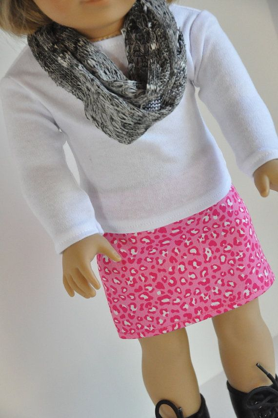 American Girl Doll Clothes Pink Cheetah Print by CircleCSewing, $15.00