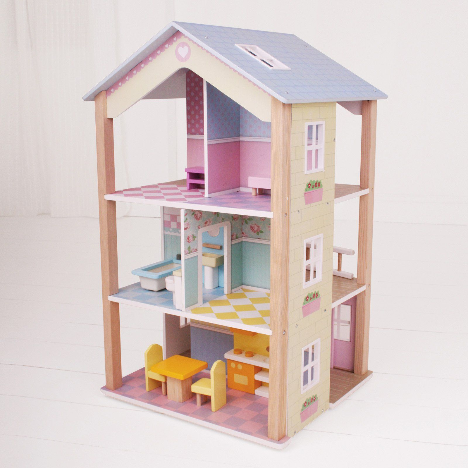 Big Jigs Manhattan Townhome Dollhouse | From Hayneedle.com