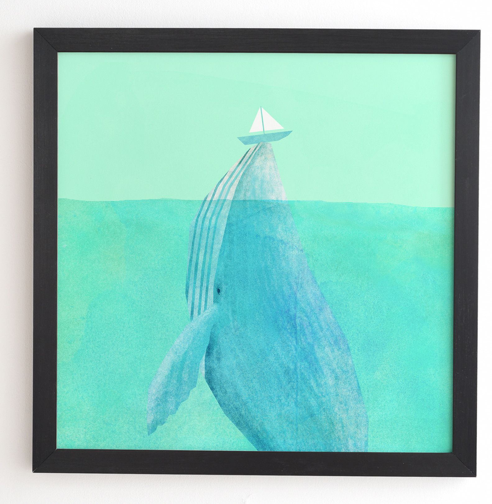 Lift Framed Painting Print