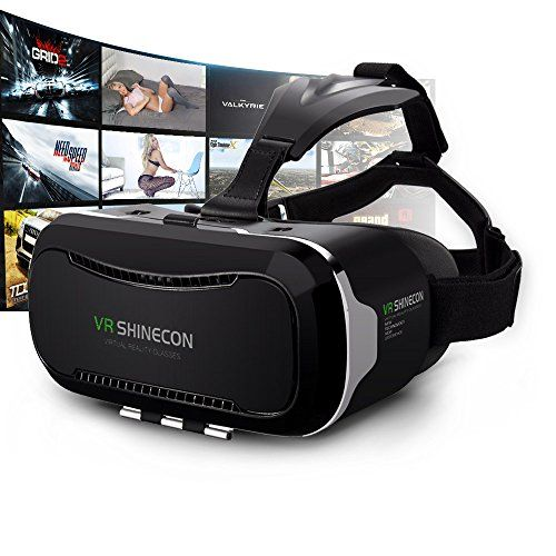 5f9b026e8965 Vr Headsets Kaotoer 3D VR Glasses Movie Visor 3D Vr Virtual Reality Glasses  Innovative Design Fit for iOS and Android Smartphones within 356 Inches      You ...